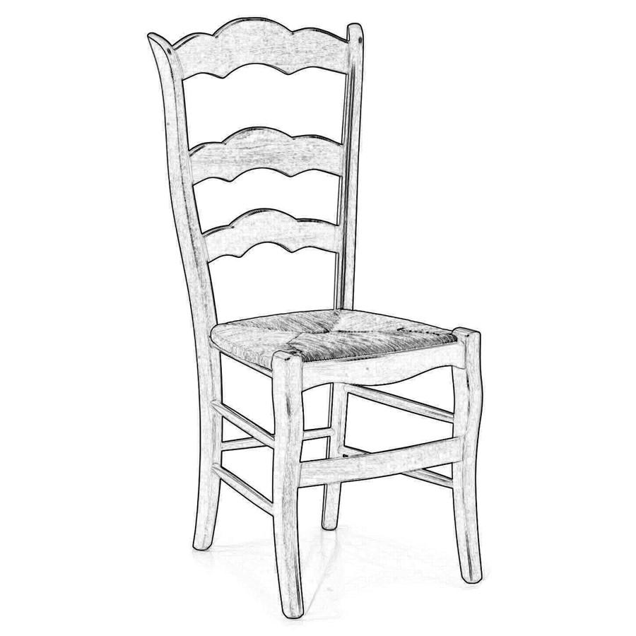 Sedie In Legno Grezzo.Sedia In Legno Grezzo 39 Sedie Grezze Da Verniciare