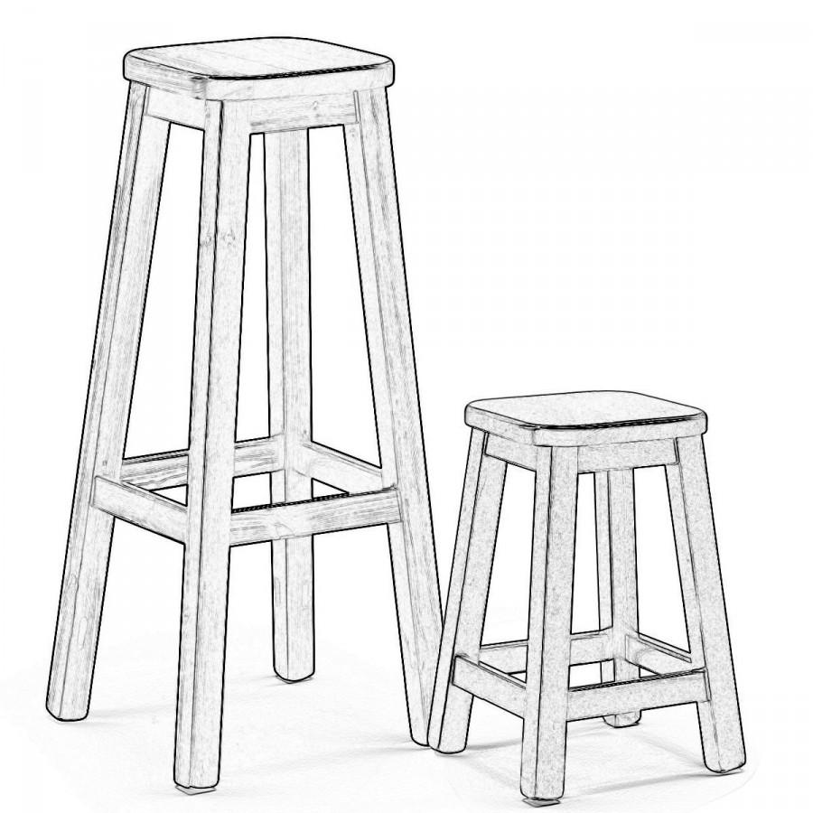 Sgabelli legno grezzo nibbio sedie grezze da verniciare for Verniciare legno grezzo